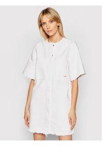 Biała sukienka Victoria Victoria Beckham