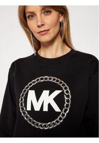 MICHAEL Michael Kors Bluza MH05MUXBDD Czarny Relaxed Fit. Kolor: czarny