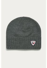 Szara czapka Rossignol
