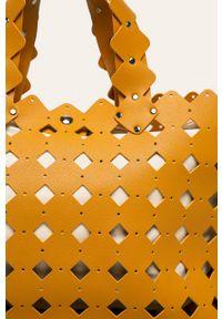 Żółta listonoszka ANSWEAR na ramię
