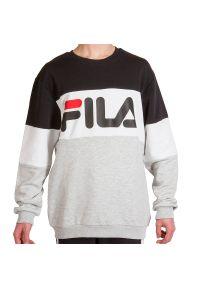 Fila - FILA STRAIGHT BLOCKED CREW > 688050-I85. Materiał: poliester, bawełna