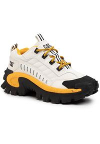 CATerpillar Sneakersy Intruder P723902 Biały. Kolor: biały
