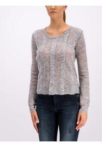 Szary sweter klasyczny Silvian Heach