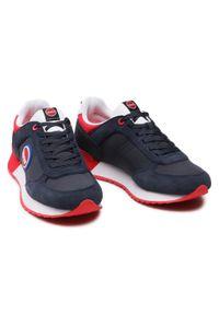 Colmar - Sneakersy COLMAR - Travis Boost 134 Navy/Red. Okazja: na co dzień. Kolor: niebieski. Materiał: zamsz, materiał, skóra. Szerokość cholewki: normalna. Styl: casual, sportowy #3