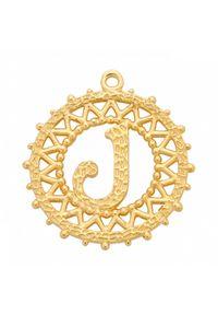 MOKOBELLE - Perłowy naszyjnik choker z literką 38 cm. Materiał: srebrne. Kolor: biały. Wzór: ażurowy, aplikacja. Kamień szlachetny: perła #9