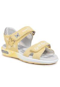 Żółte sandały Superfit na lato