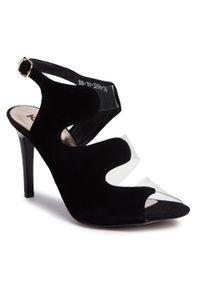 Czarne sandały Karino wizytowe