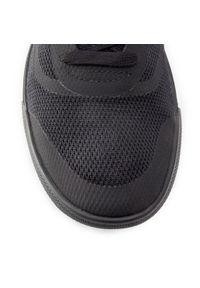 Czarne buty sportowe Vans z cholewką, na co dzień