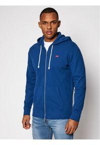 Levi's® Bluza New Orginal 34584-0003 Granatowy Standard Fit. Kolor: niebieski