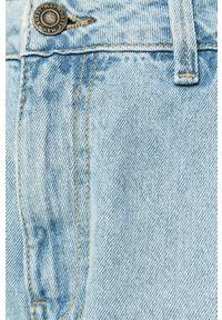 Niebieskie jeansy Noisy may z podwyższonym stanem #4