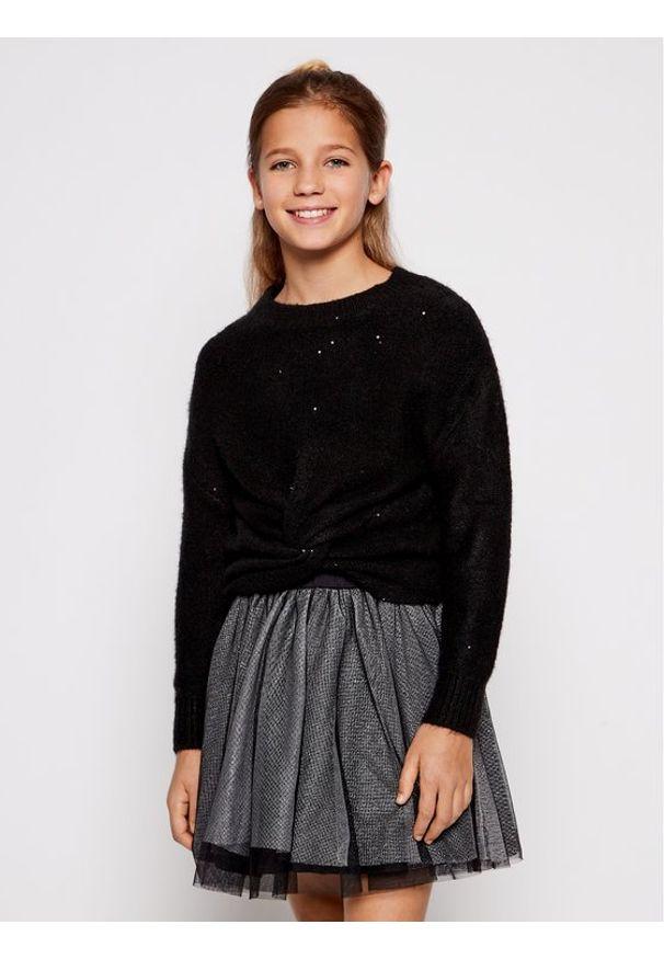 Mayoral Komplet sweter i sukienka 7974 Czarny Regular Fit. Kolor: czarny
