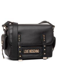 Czarna listonoszka Love Moschino wizytowa