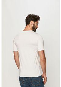 Biały t-shirt Jordan z nadrukiem, na co dzień