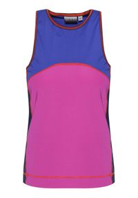 Napapijri Top Silbe W NP0A4E9F5 Kolorowy Regular Fit. Wzór: kolorowy