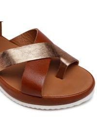 Ara - Sandały ARA - 12-15181-06 Cognac. Kolor: brązowy. Materiał: skóra. Sezon: lato