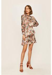 Wielokolorowa sukienka ANSWEAR mini, casualowa, na co dzień