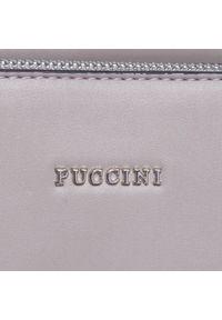 Szara torebka klasyczna Puccini #5