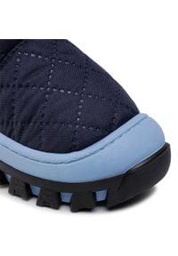 Bartek - Śniegowce BARTEK - 4484-DADW Ocean. Okazja: na spacer. Kolor: niebieski. Materiał: materiał. Szerokość cholewki: normalna. Sezon: zima. Styl: młodzieżowy