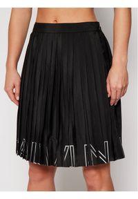 Czarna spódnica plisowana Calvin Klein Jeans