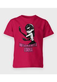 MegaKoszulki - Koszulka dziecięca Niesamowita córka. Materiał: bawełna