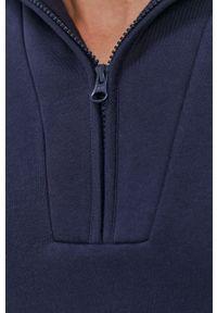 Peak Performance - Bluza. Typ kołnierza: kaptur. Kolor: niebieski. Materiał: dzianina, bawełna. Długość rękawa: długi rękaw. Długość: długie