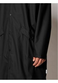 Rains Kurtka przeciwdeszczowa Unisex 1836 Czarny Regular Fit. Kolor: czarny #7