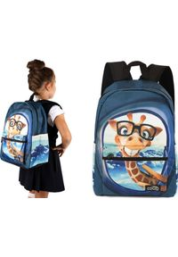 Cogio Kids Italy Plecak szkolny 2044AM granatowy. Kolor: niebieski