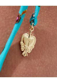 Camilla - CAMILLA - Top od bikini w kwiaty. Kolor: niebieski. Materiał: tkanina. Wzór: kwiaty