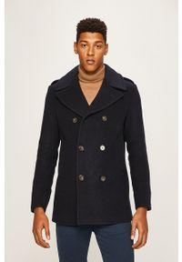 Niebieski płaszcz Polo Ralph Lauren na co dzień, casualowy, polo