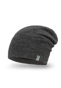 Szara czapka PaMaMi