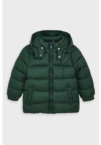 Zielona kurtka Mayoral casualowa, z kapturem, na co dzień