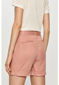 Różowe szorty Pepe Jeans casualowe, na co dzień