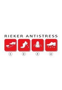 Rieker - RIEKER B5128-14 blue, półbuty męskie. Zapięcie: sznurówki. Kolor: niebieski