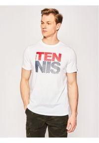Head T-Shirt Club Chris 811429 Biały Regular Fit. Kolor: biały