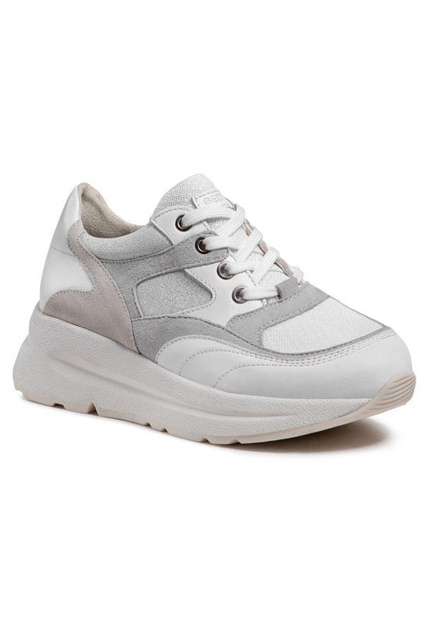Geox Sneakersy D Backsie A D15FLA 08521 C0130 Biały. Kolor: biały
