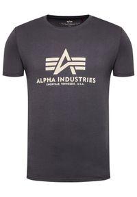 Alpha Industries T-Shirt Basic 100501 Szary Regular Fit. Kolor: szary #3