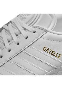 Białe półbuty Adidas z cholewką, eleganckie #7