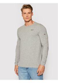 Pepe Jeans Longsleeve Original Basic PM506138 Szary Slim Fit. Kolor: szary. Długość rękawa: długi rękaw