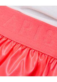 Kenzo kids - KENZO KIDS - Różowa spódnica 3-12 lat. Kolor: różowy, wielokolorowy, fioletowy. Materiał: materiał. Sezon: lato
