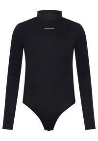 Czarna bluzka body Calvin Klein Jeans