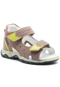 Beżowe sandały Sergio Bardi Kids na lato, klasyczne
