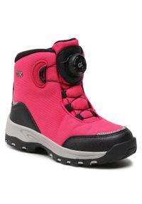 Różowe buty zimowe Reima z cholewką, na spacer