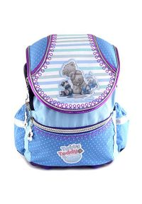 Niebieski plecak Me To You w kolorowe wzory