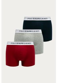 Szare majtki Polo Ralph Lauren z nadrukiem