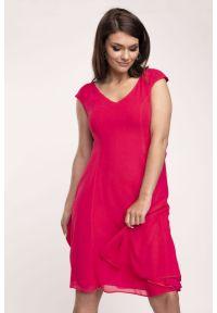 Czerwona sukienka Vito Vergelis na ślub cywilny