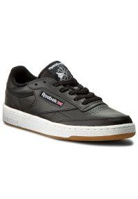 Czarne buty sportowe Reebok Reebok Club, z cholewką
