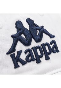 Biała czapka z daszkiem Kappa