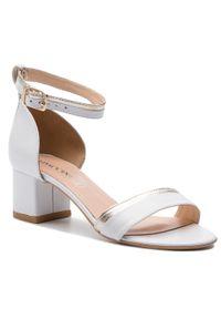 Białe sandały Baldaccini casualowe, na co dzień