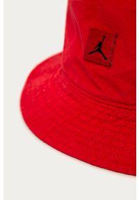 Czerwony kapelusz Jordan gładki