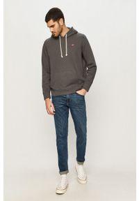 Levi's® - Levi's - Bluza bawełniana. Okazja: na spotkanie biznesowe, na co dzień. Kolor: szary. Materiał: bawełna. Styl: casual, biznesowy